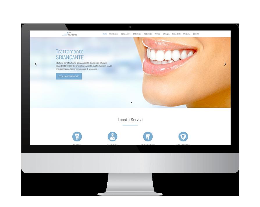 Sito web dentista